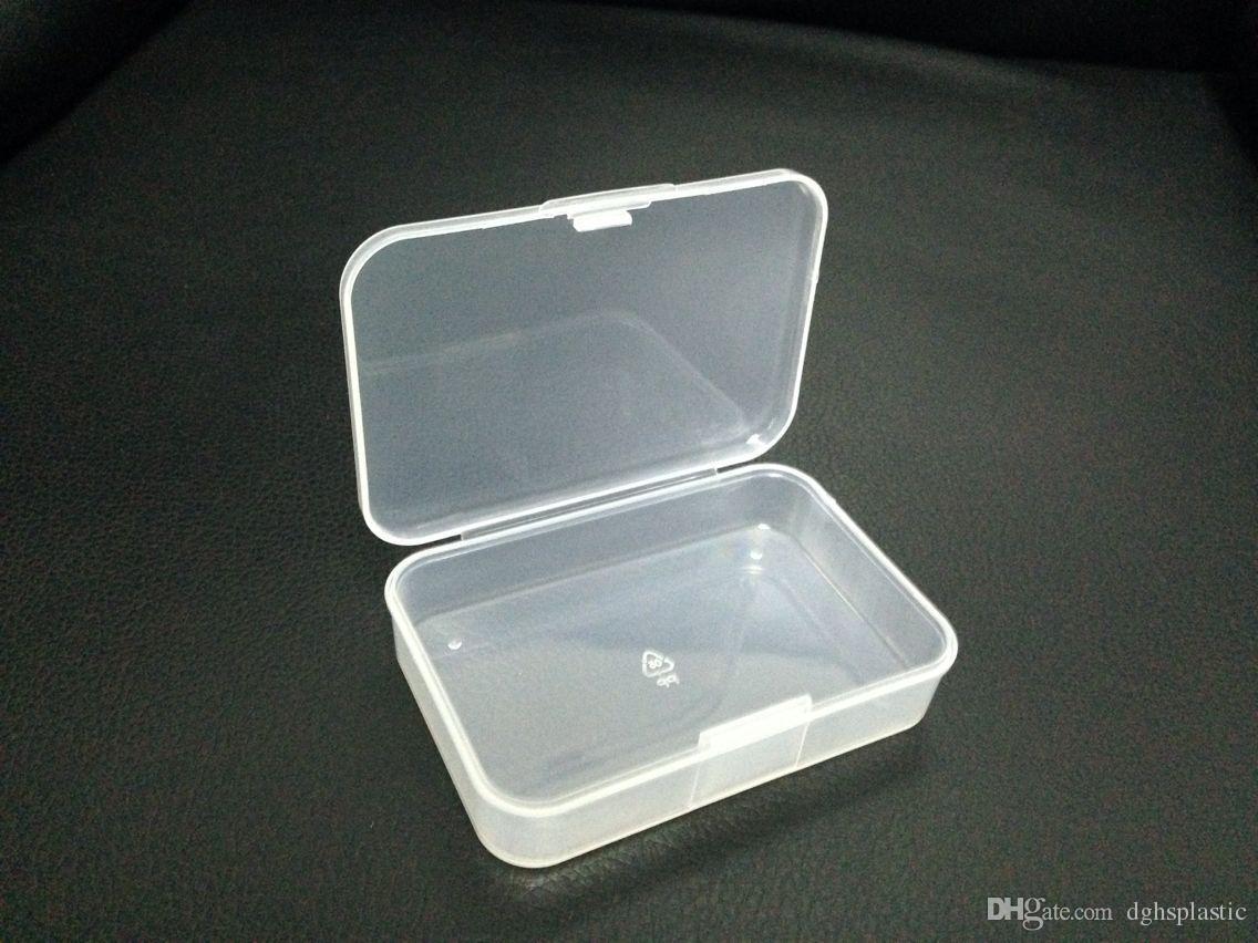 2018 новая мода пластиковая коробка небольшие аппаратные части случае держатель контейнера коробка ювелирных изделий для небольших аксессуаров 502