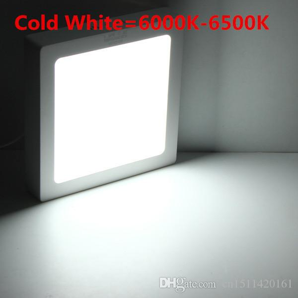 Top Quality! 9W 15W 25W 30W Square Led Panel Light Surface Mounted Led ceiling Downlight AC 110V 220V + LED Driver