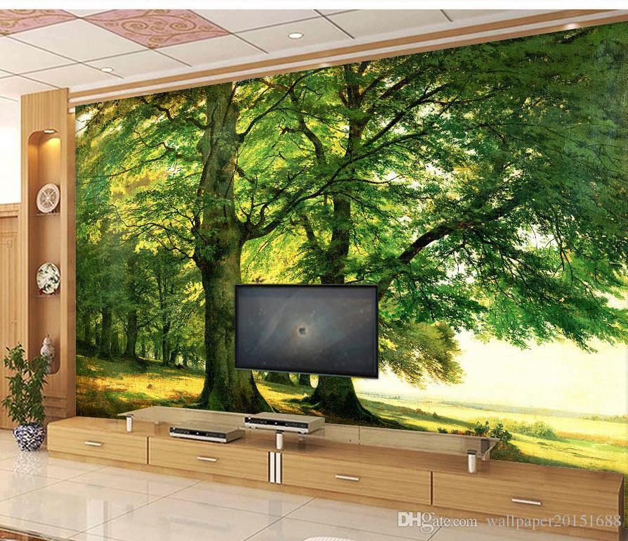 Bedroom Athletics Voucher Cool Bedroom Wall Art Ideas Burgundy And Black Bedroom Burgundy Carpet Bedroom: Acheter Personnalisé Toute Taille Peint À La Main Arbre