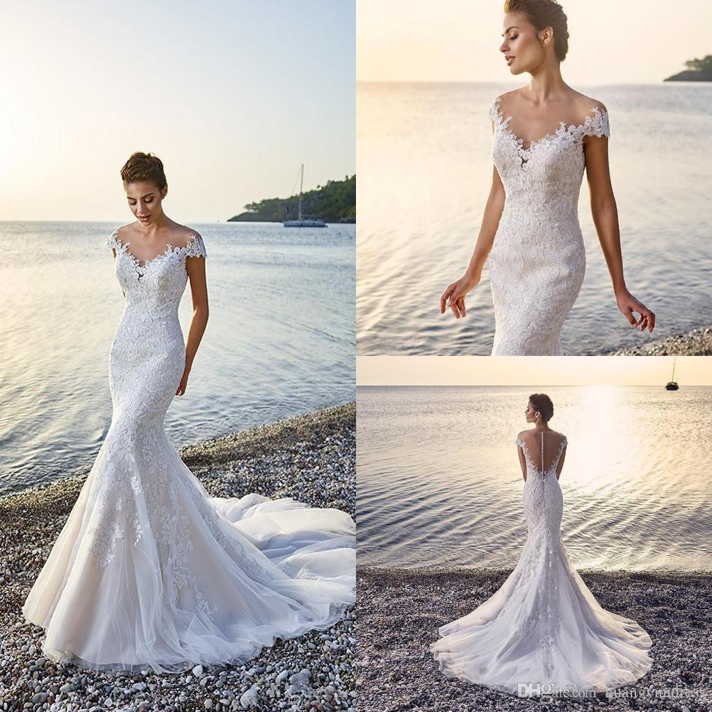 The cheapest way to earn your free ticket to designer for Beach wedding dresses 2017