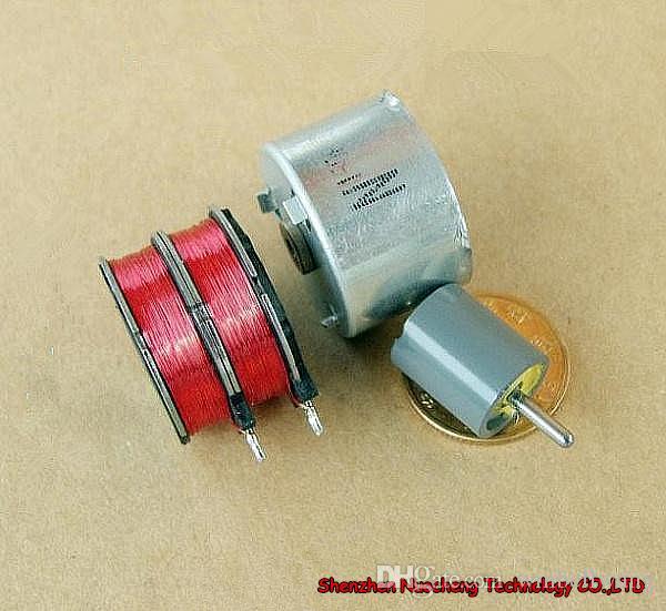 25 * 17MM 강한 자석 2 단계 6-wrie 25mm 24V 스테핑 모터 N150805 스테핑 각 18 ~