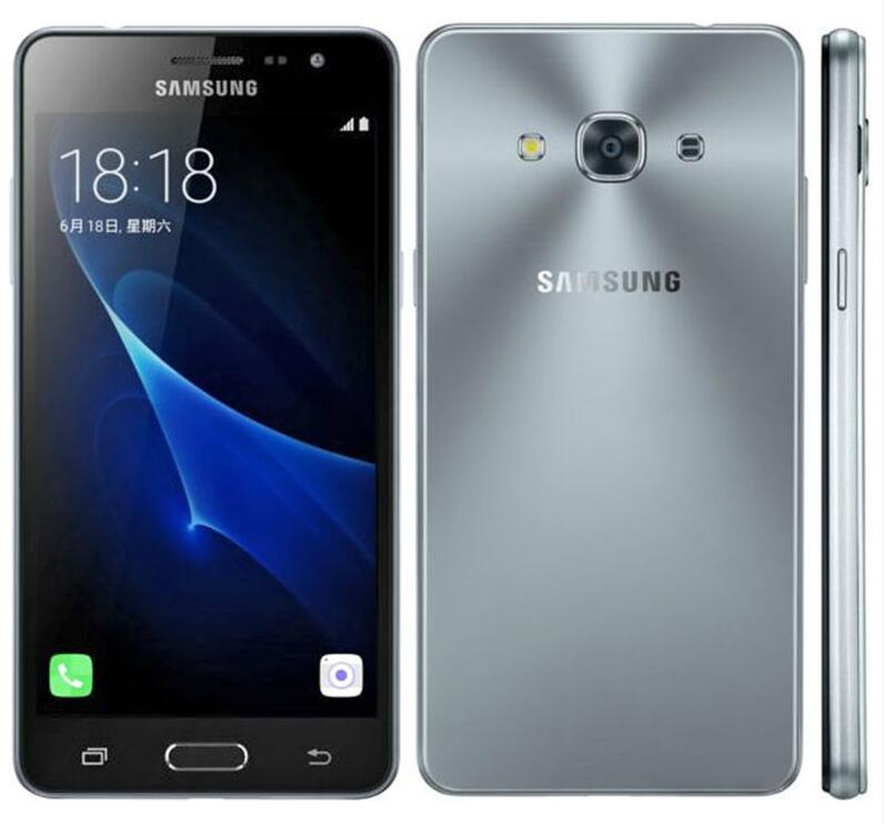 Recuperado Original Samsung Galaxy J3 Pro J3110 Desbloqueado Cell Phone Quad Core 2GB / 16GB 5.0
