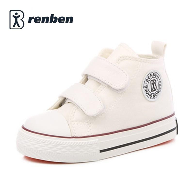 869e566753603 Acheter Chaussures De Bébé Fille Enfants Toile Chaussures Garçons 2017 Printemps  Automne Mode Haute Coton Fait Bébé Fille Petits Enfants Chaussures De  23.6  ...