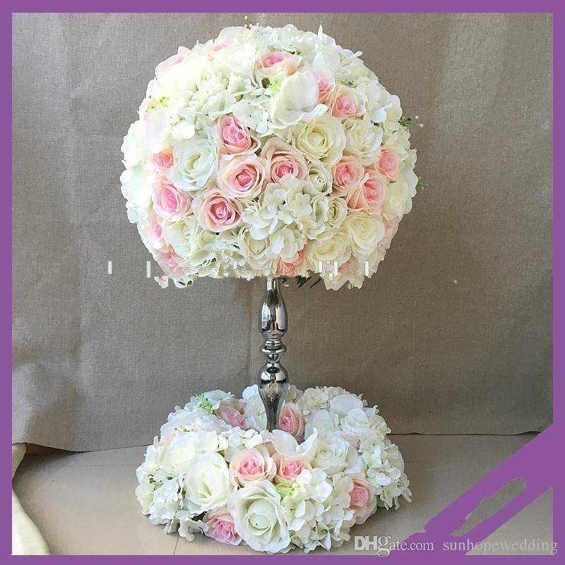 Elegant Mental Wedding Centerpieces Flower Stand For Table Decoration 18th Birthday Party Supplies 1st Decorations From Sunhopewedding