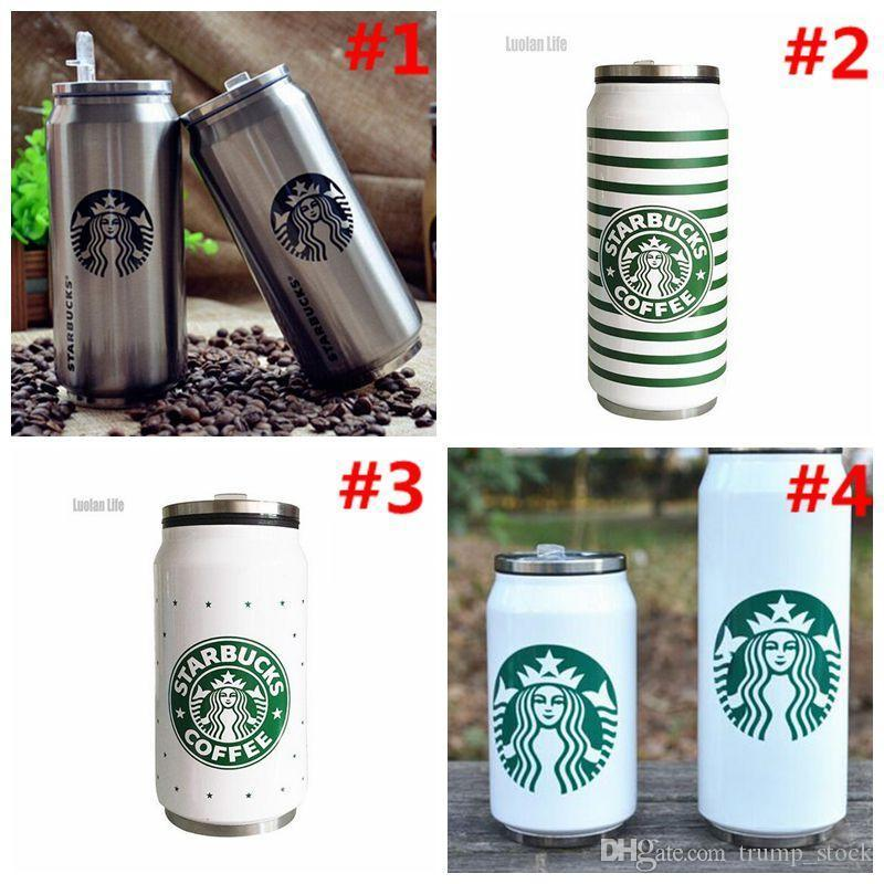 Starbucks Coffee Cup Double Layer Insulated Stainless