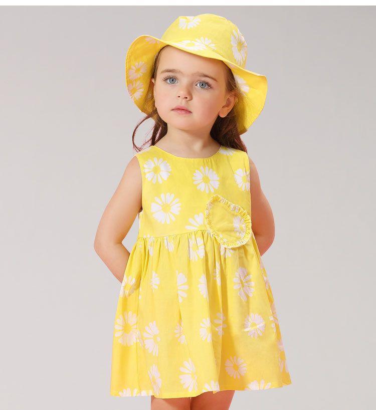 Best Quality Pretty Baby Girls Clothes 2017 Summer Children Dresses