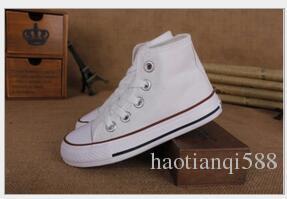 2017 Yeni marka çocuk kanvas ayakkabılar moda yüksek-düşük ayakkabı erkek ve kız spor kanvas ayakkabılar
