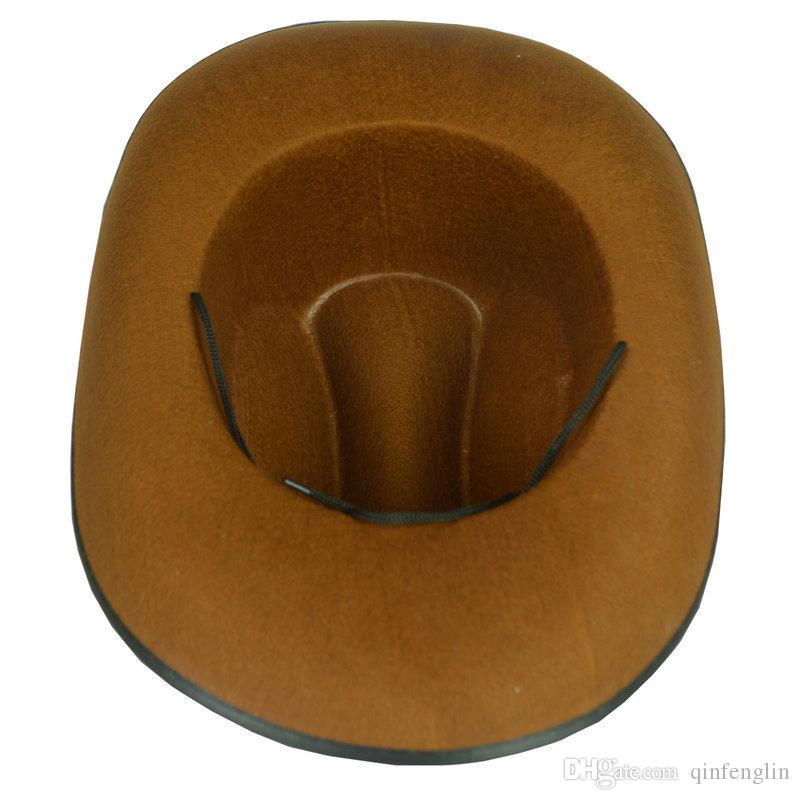 Halloween CosPlay hats Show Props Antique Knight Cap Retro American Western Cowboy Hat Five-Pointed Star Hat Women and Man Bowler Fedora Cap