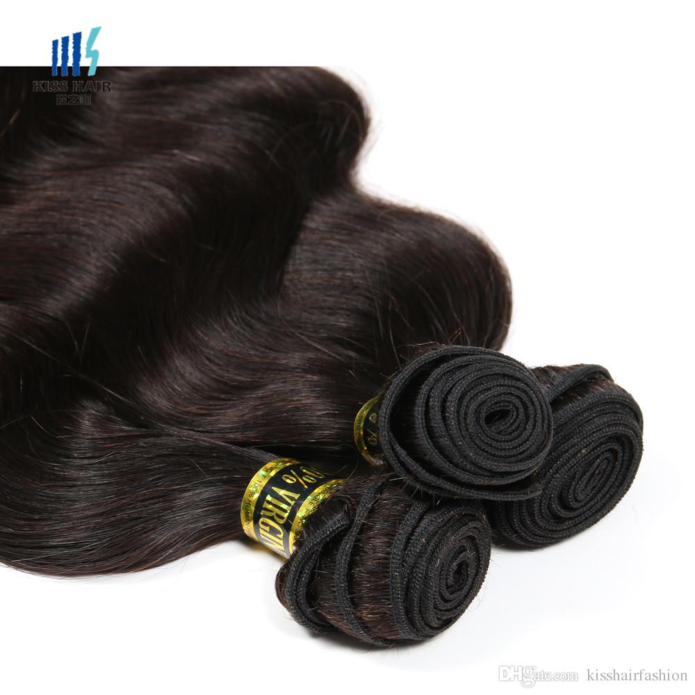 3 bundles di alta qualità peruviana trama dei capelli dell'onda del corpo non trasformati vergine di remy dei capelli umani tessuto visone estensioni dei capelli treccia