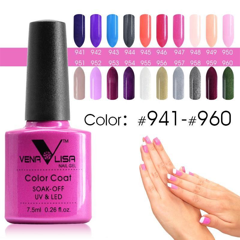 Wholesale #61508 Venalisa Nail Polish Gel Uv&Led Color Gel 7.5ml ...