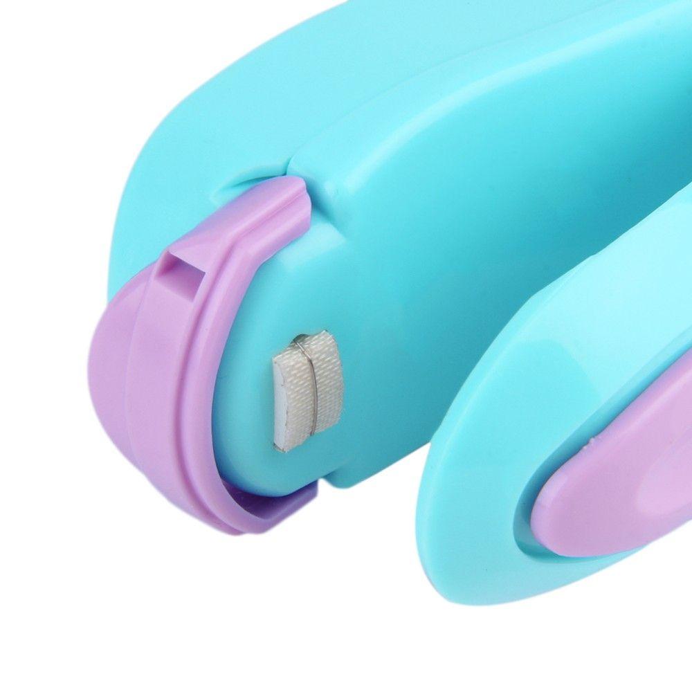 Mini Portable ABS Handheld Heat Sealing Machine Plastic Bag Sealer Seal Tool Store Kitchen Tools