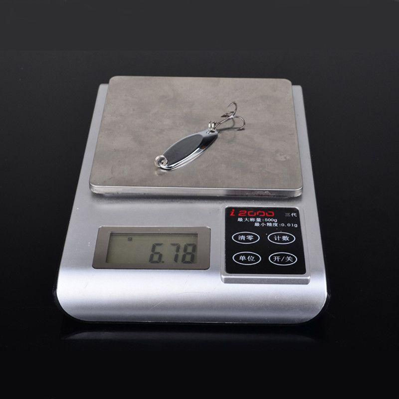 4.57cm 6.78g VIB ملاعق الصيد هوكس الخطافات 6 # هوك الطعوم المعادن السحر معالجة صيد الاسماك ح-002
