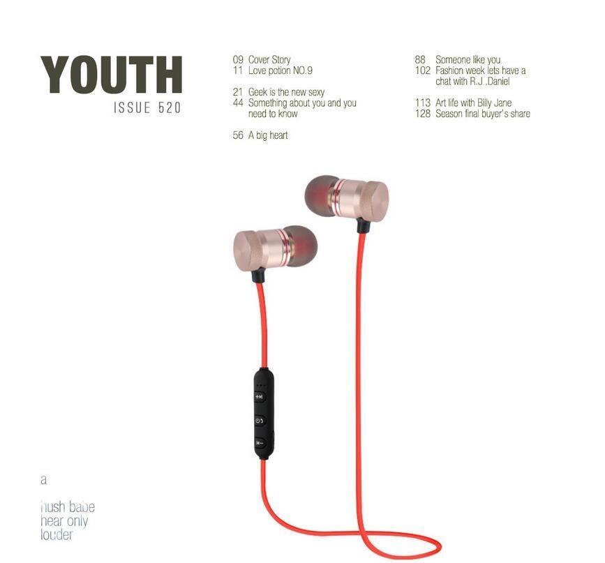 Bluetooth Kopfhörer M9 Wireless In-Ear Noise Reduction Kopfhörer mit Mikrofon Sweatproof Stereo tereo direkt ab Werk