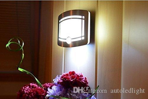Wall Lamps 12 LED Aluminum Case Wireless Stick Motion Sensor Activated Battery Operated Sconce Spot Lights Hallway Night Light