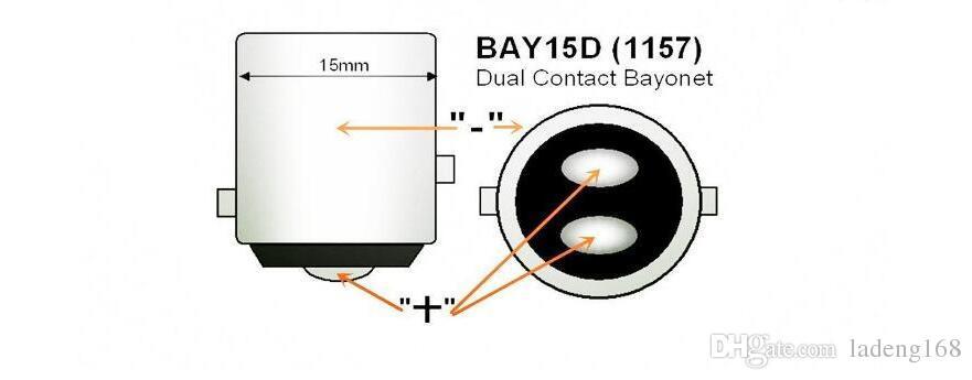 Car led 1157 Turn Signal lights LED Bulbs For Car Brake Lights Interior Rear Extremely Bright Day Time Running Light White