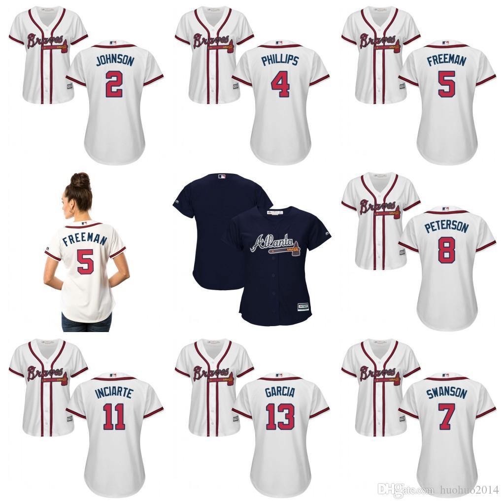 acc6db0ec ... peterson jace 8 jersey ... atlanta braves 2 dansby swanson red white ...