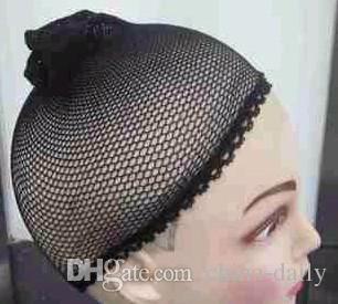 무료 배송 20 개 새로운 Fishnet 가발 모자 Stretchable 탄성 헤어 그물 Snood 가발 모자 헤어 그물 가발 그물