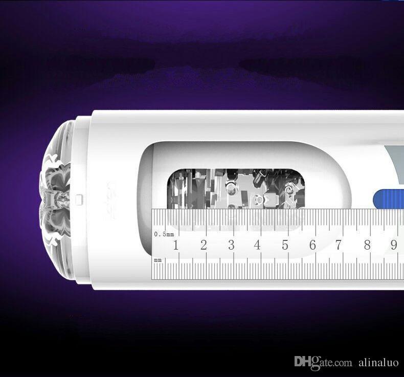 الاستمناء قشرة الموزه ذكر الهرة لممارسة الجنس مكبس حر اليدين 10 وظيفة قابل للسحب USB قابلة لإعادة الشحن التلقائي منتجات جنسية