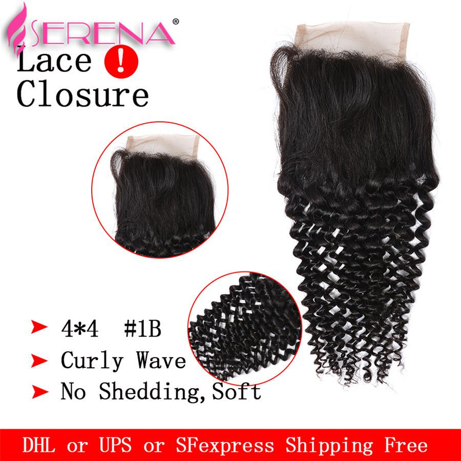 Hair Bundles With Top Closure Buy 3 Hair Wefts Get Free Curly Wave Lace Front Closure Malaysian Deep Curly Human Hair Weave