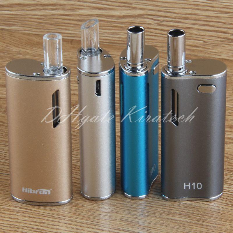 Original 100% H10 ecig thick oil cartridge 650mah battery vape box mod vaporizer smoking starter kit electric cigarettes vaping
