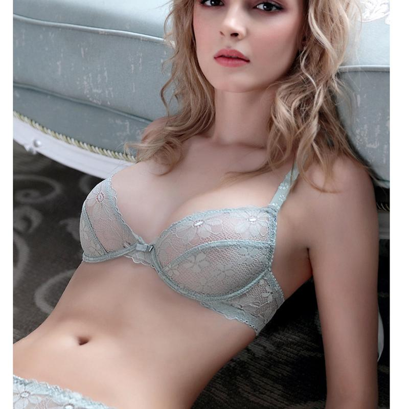 Girl in sexy bra