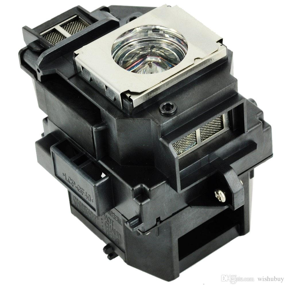 Wishubuy ELPLP54 V13H010L54 Projector Original Lamp with Housing for HC705HD S7 W7 S8+ EX31 EX51 EX71 EB-X7 S72 S82 W8 EH-TW450
