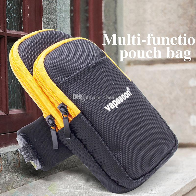 Il sacchetto multifunzionale del sacchetto della fascia del braccio del sacchetto della borsa del sacchetto di Vapesoon che corre il pacchetto Borse di sport all'aperto multifunzionali misura la sigaretta elettronica DHL libero
