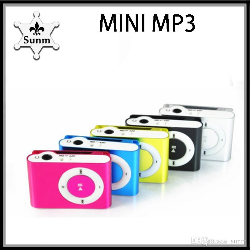 Colorful mini clip protable MP3 kit (earphone, charging wire) music player VS headphones hbq i7 770002-1