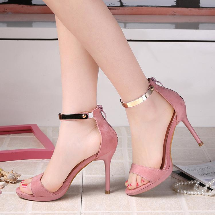 2017 New Style High Heels Women Sandals Open Toe Sandals Female ...