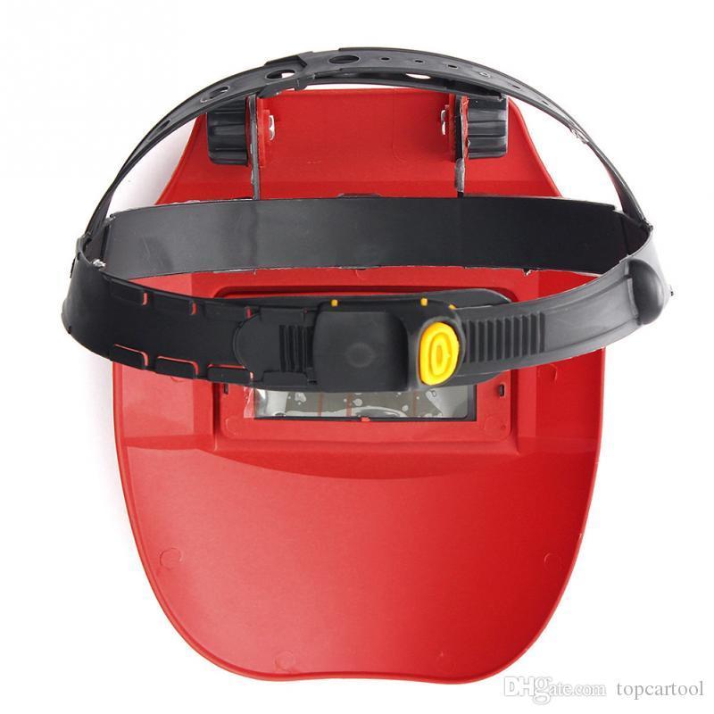 Auto Verdunkelung Schweißhelm Schweißer Maske Linsen Solarbetriebene Cap Helm / Maske Schweißwerkzeuge