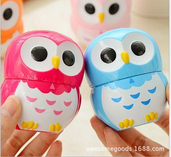 2018 Owl Timer Clock Cartoon Timer Clock Stereo Owl Kitchen Clock From  Houshuai168, $603.01 | Dhgate.Com