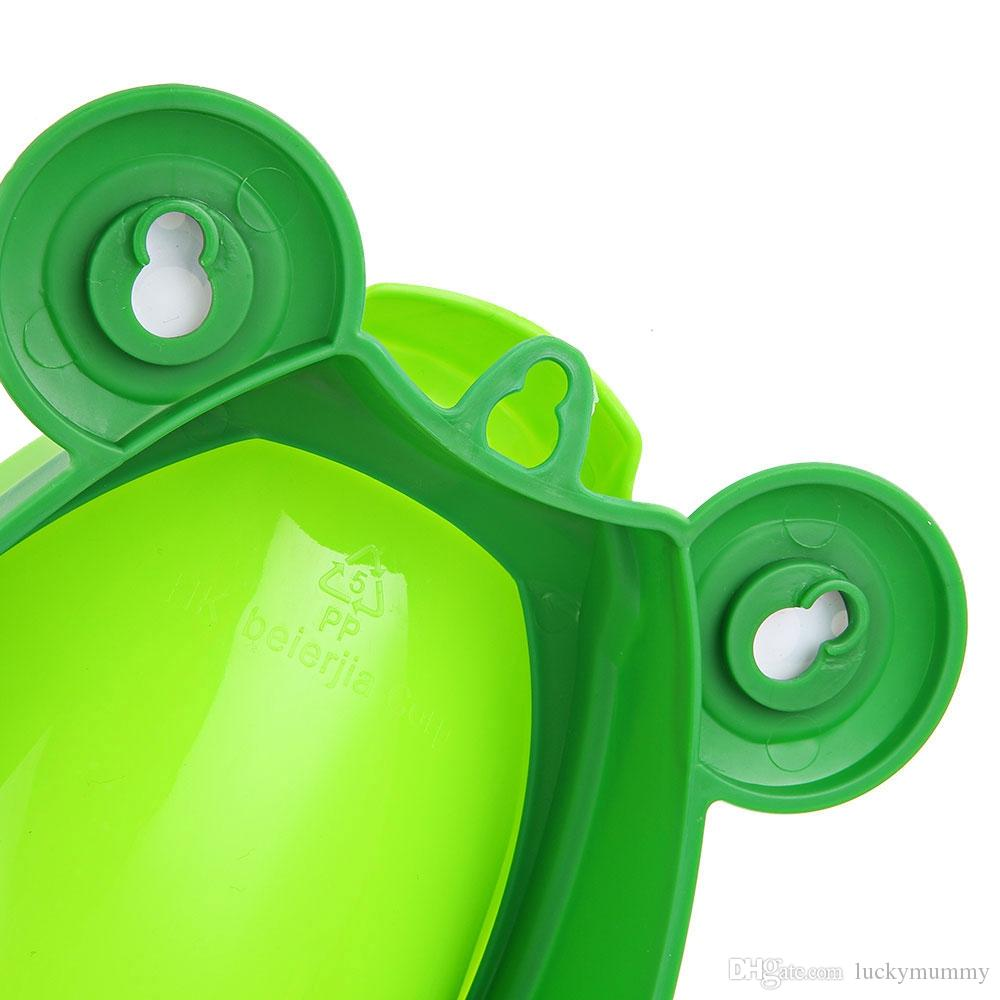 Boys Standing Urinal Baby Boy Potty Toilet Training Frog Children Stand Vertical Urinal Boys Penico Pee Infant Toddler Wall-Mounted TNB