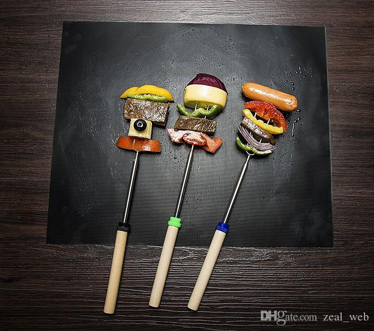 Cheapest Non-stick BBQ Grill Mat Thick Durable 30*40CM Sheet Portable Barbecue Mat Easy Clean Picnic Cooking Tool 7