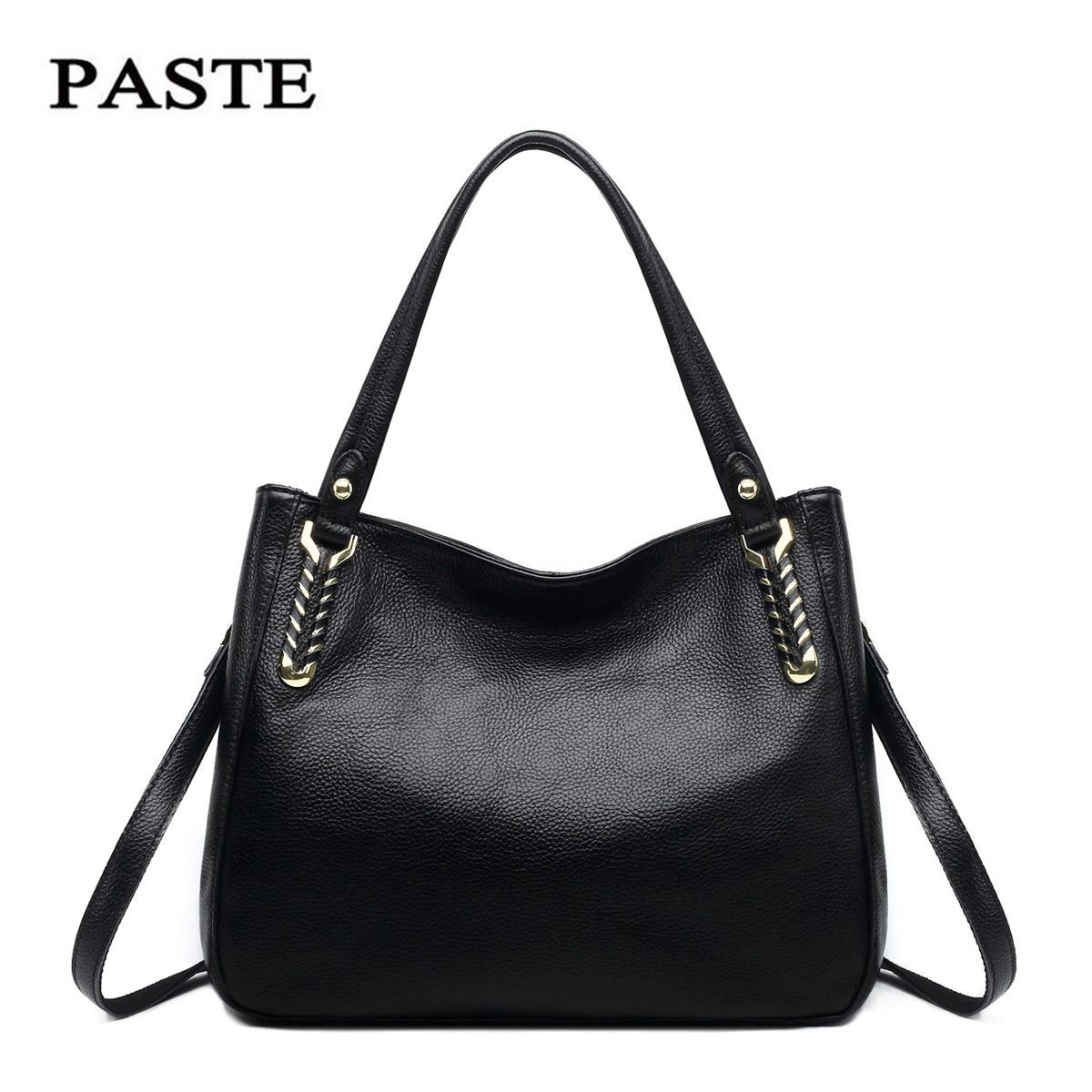 c80991412b4 Wholesale Women Patent Leather Handbag Genuine Leather Women Messenger Bags  Classical Hobos Shoulder Bag Female Hand Bags Sac A Main Borse Cheap  Designer ...