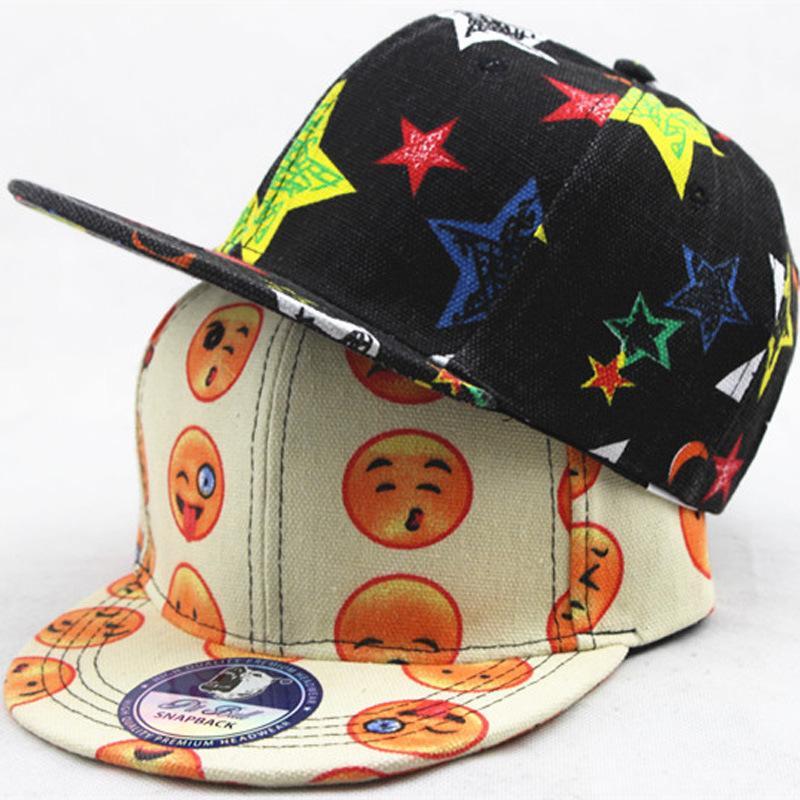 New Anime Anime Kids Caps Cartoon Printed People Pattern Cosplay Hat ... 2f4e038d693e