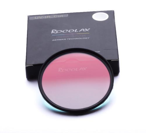 Wholesale- ROCOLAX 40mm Optical UV-IR CUT Ultra-thin Filter for camera lens for FUJI X20