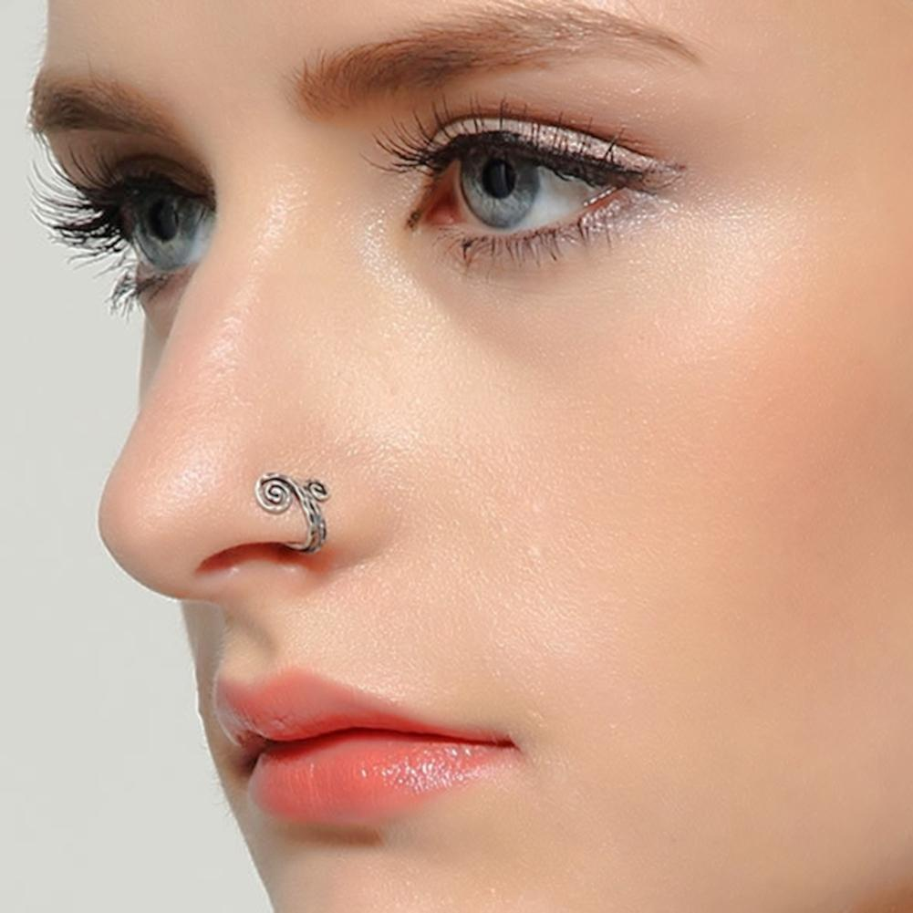 Magnificent Silver Nose Ring Design Gallery - Jewelry Collection ...