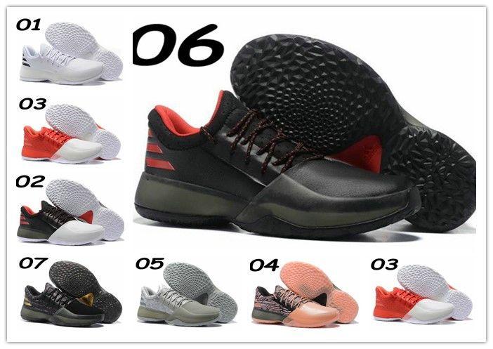 4c8e1b0ec3b9 ... new 2017 harden vol. 1 mens basketball shoe youths black white orange  wholesale fashion james