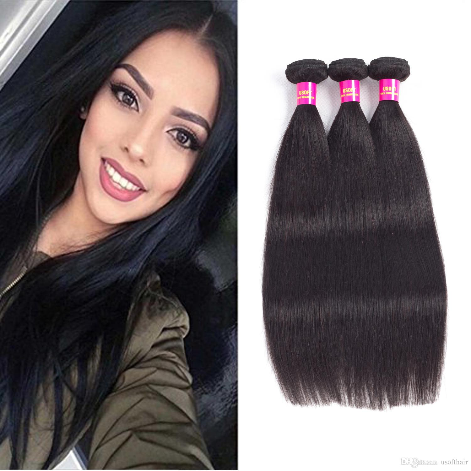 Wholesale Brazilian Hair Extension Straight Body 8a 100 Unprocessed