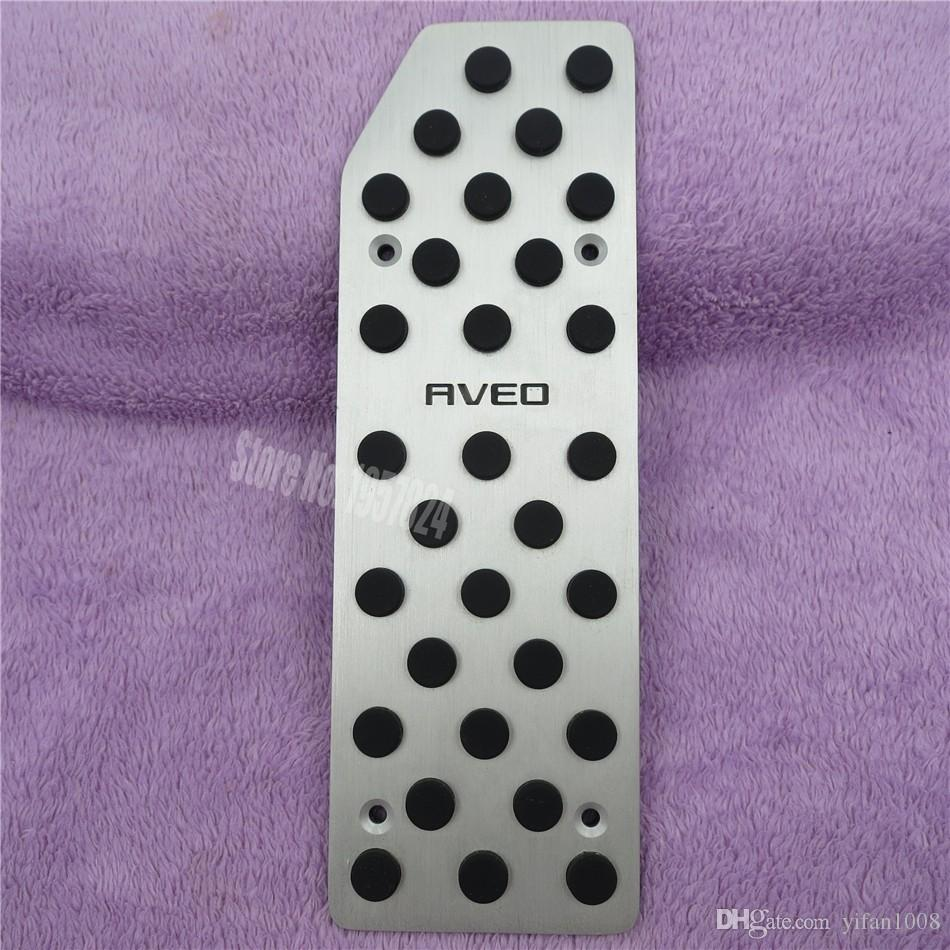 Car Accessories For Chevrolet Aveo AT/MT Accelerator Brake Foot Rest Pedal Sticker, Gas Fuel Sports pedal covers pads