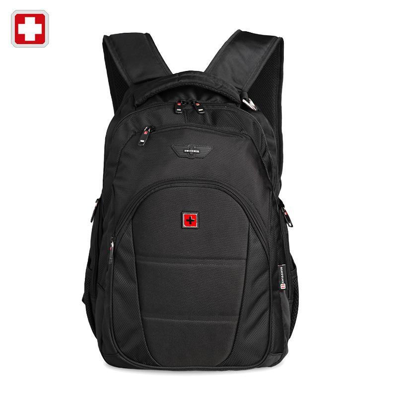 9e4f499dc5 Swisswin Men Backpack Mochilas Swissgear Men s Backpacks 12-15.6 ...