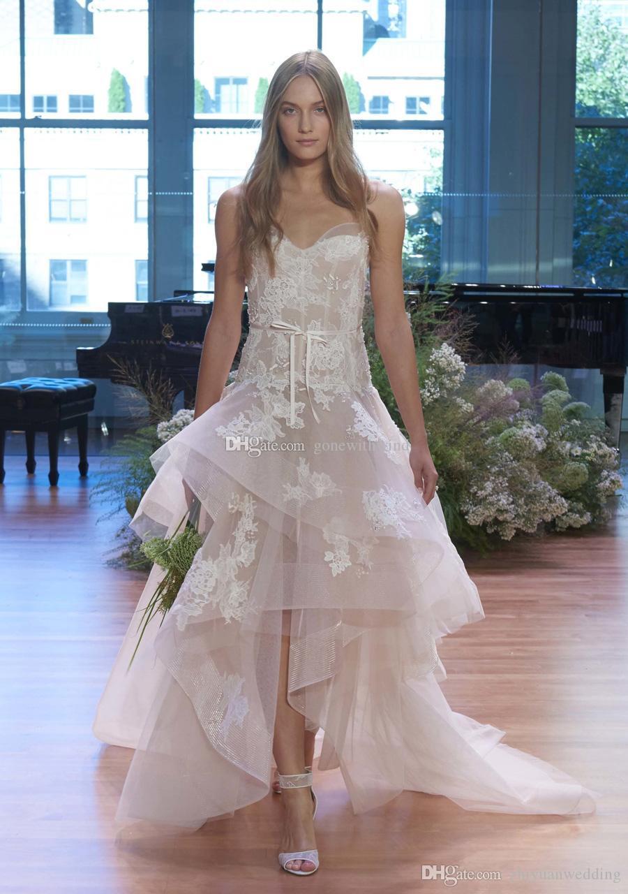 Ungewöhnlich Hoch Niedrig Brautkleider Fotos - Hochzeit Kleid Stile ...