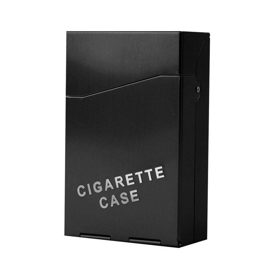 레이디 여성 슬림 알루미늄 20 개 시가 담배 케이스 담배 홀더 보관 케이스 포켓 박스 드롭