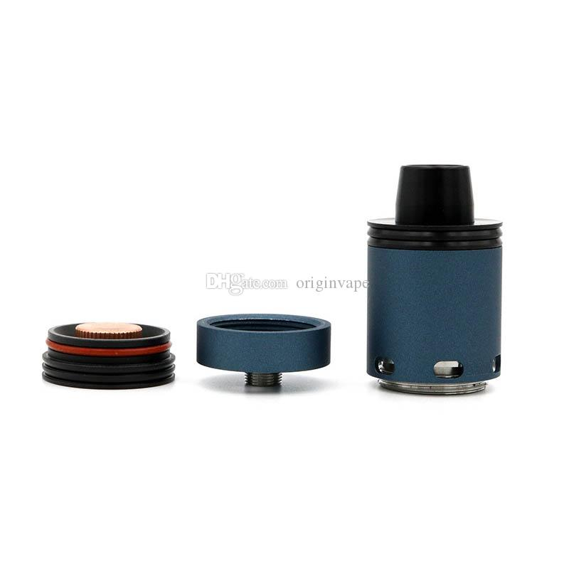 100% Quality 18650 Battery Ecig Mod 24mm Electronic Cigarette and Copper Mechanical Mod avialable DHL