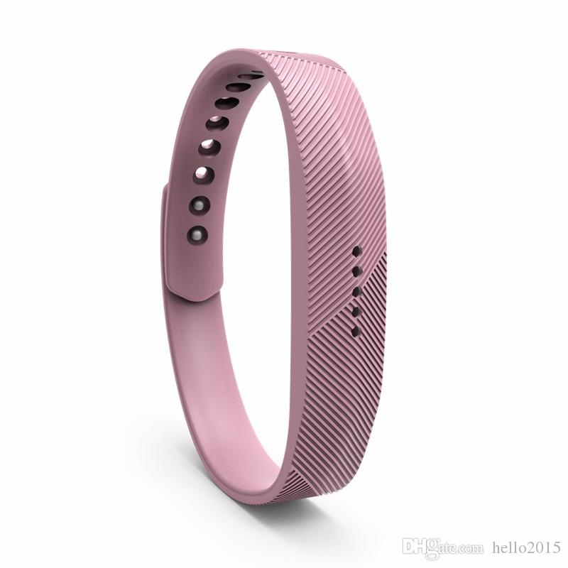 Silicone Replacement Rubber Band for Fitbit Flex 2 Bracelet Wrist Strap High Quality