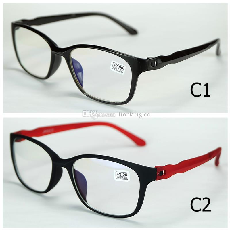 Multifunctional Anti-fatigue Reading glasses Strength Magnification Reading Eye Glasses Spectacle Diopter Light UP For Elder 908