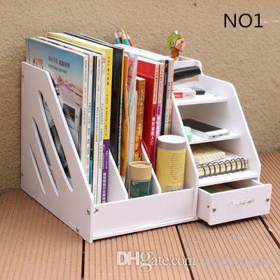 Diy office desk accessories Dvd Storage Box 2019 Diy Office School Supplies Desk Accessories Stationery Organizer File Tray Magazine Makeup Pencil Organizer Pen Note Holder From Andystone Dhgate 2019 Diy Office School Supplies Desk Accessories Stationery