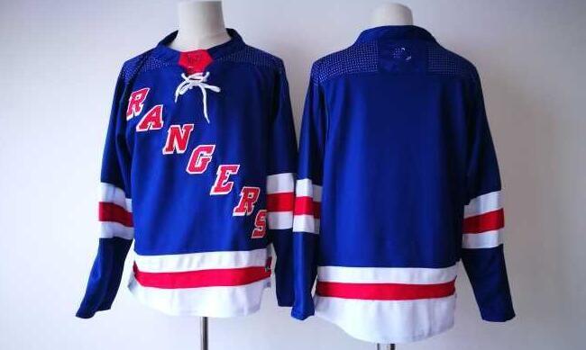 New NY Rangers Jerseys Blank No Name No Number Jersey 2017 New ... 6b92b803a