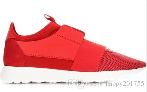 Yeni Tasarımcı Lüks Marka Moda Adam Rahat Ayakkabılar Düz Deri Örgü Patchwork Eğitmen Moda Ayakkabı Koşucu Boyutu 35-46