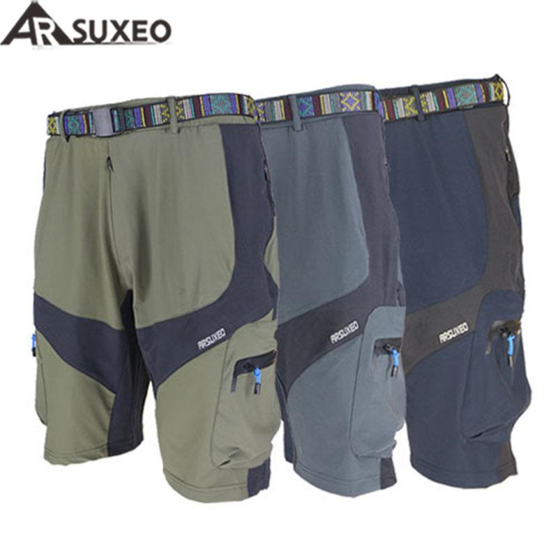 2017 ARSUXEO Mens Outdoor Sports Loose Fit Cycling MTB Shorts ... b34a573d2